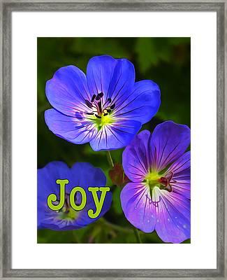 Joy 1 Framed Print by ABeautifulSky Photography