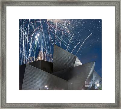 Happy Fourth Framed Print by Juli Scalzi
