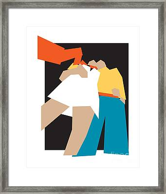 Happy Future Framed Print