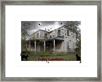 Happy Halloween Framed Print by Brian Wallace