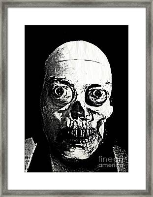 Happy Halloween Framed Print by John Malone