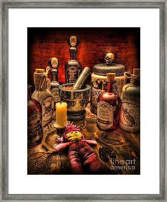 Happy Halloween Framed Print by Lee Dos Santos