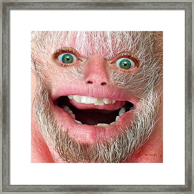 Happy Harry Framed Print