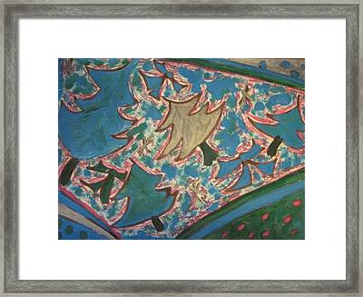 Happy Holidays Framed Print by Lois Picasso