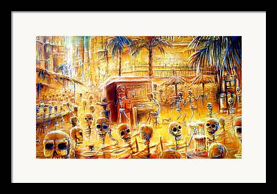 Cantina Framed Prints
