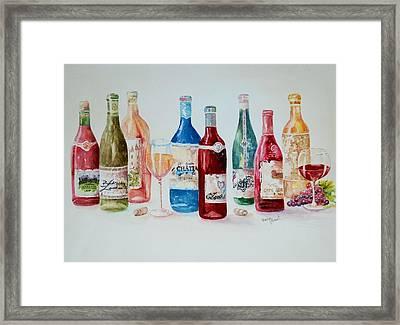Happy Hour Framed Print