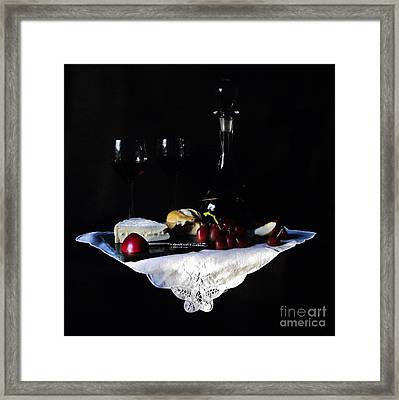 Happy Hour Framed Print by Michelle Welles