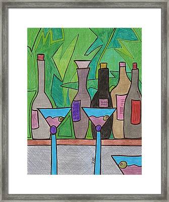 Happy Hour Framed Print by Ray Ratzlaff