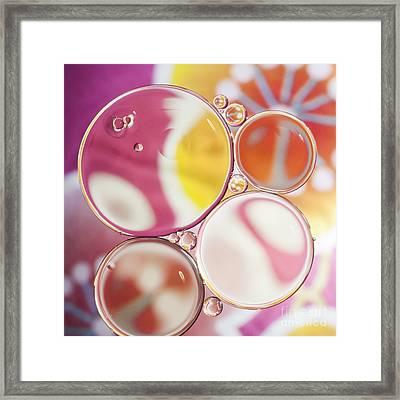 Happy Inside Framed Print by Jan Bickerton