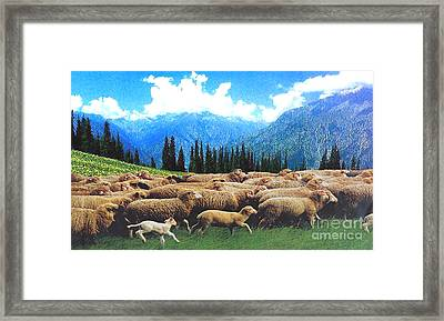 Happy Journey... Framed Print by Ragunath Venkatraman