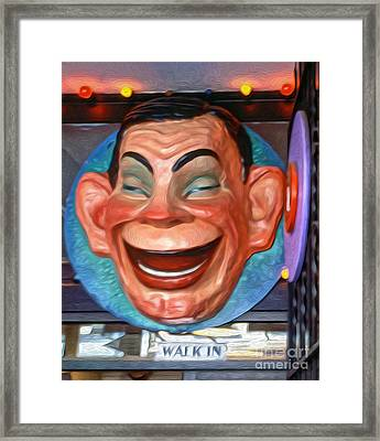 Happy Man Framed Print by Gregory Dyer