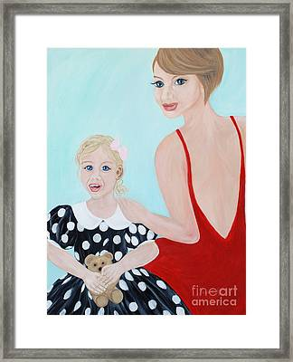 Happy Moment Framed Print