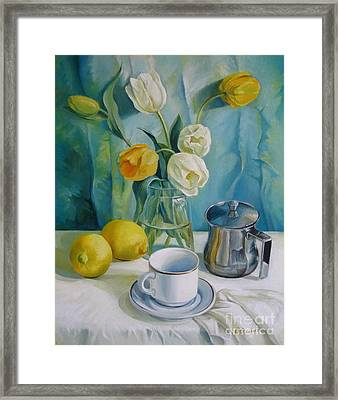 Happy Morning Framed Print