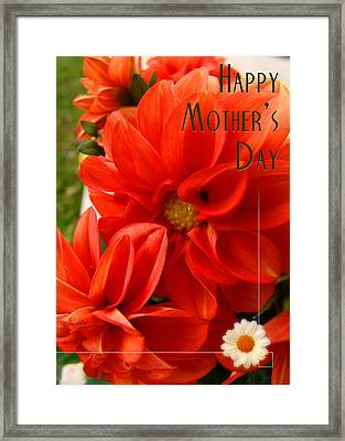 Happy Mother's Day 01 Framed Print by Alessandro Della Pietra