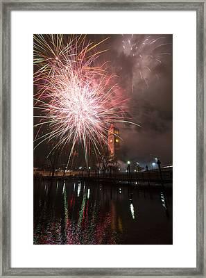 Happy New Year 2014 B Framed Print