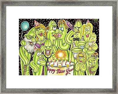 Happy New Year  Framed Print