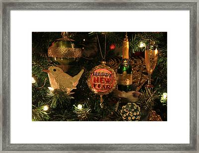 Happy New Year  Framed Print by Donna Kennedy