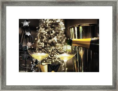 Happy New Year  Framed Print by Marianne Donahoe