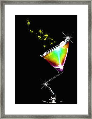 Happy Nights Framed Print by Thomas Berger