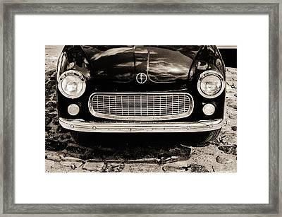 Happy Old Car Framed Print by Arkady Kunysz