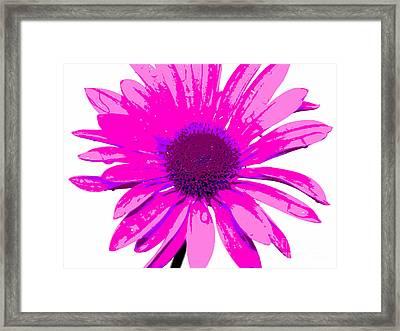Happy Pink Framed Print by Krissy Katsimbras