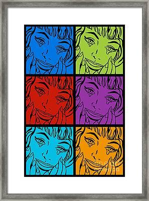 Happy Tears No.2 Framed Print