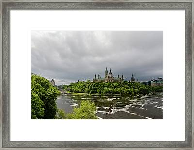 Happy Victoria Day Framed Print