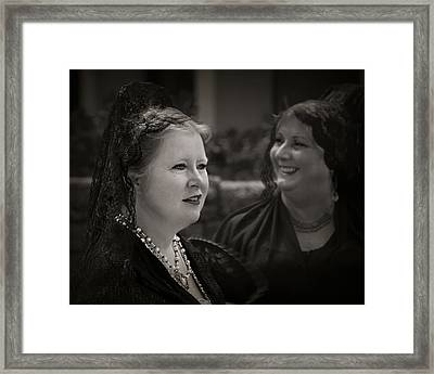 Happy Widows Framed Print