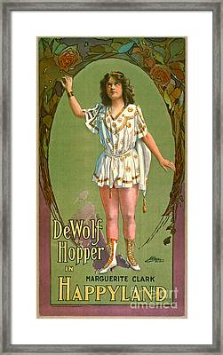 Happyland 1905 Framed Print by Padre Art
