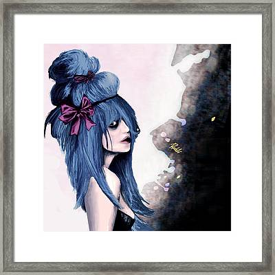 Harajuku Style Framed Print by Rouble Rust