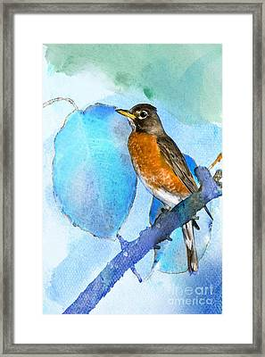 Harbinger Framed Print by Betty LaRue