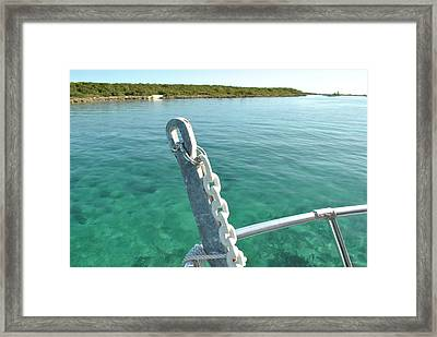 Harbor At Nassau Framed Print by Misty Stach