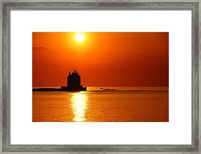 Harbor Cruise Framed Print by Robert Bodnar