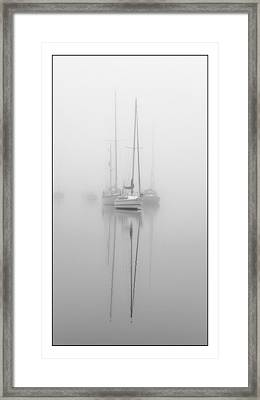 Harbor Fog No.1 Framed Print