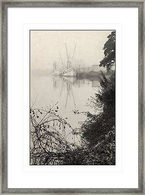 Harbor Fog No.3 Framed Print
