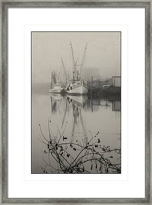 Harbor Fog No.4 Framed Print