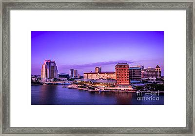 Harbor Island Framed Print by Marvin Spates