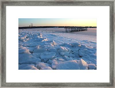 Harbor Port Jefferson New York Framed Print