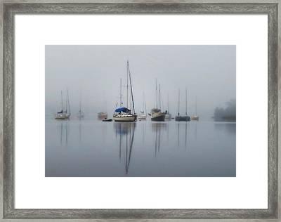 Harbor Rest Framed Print