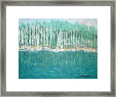 Harbor Shores Framed Print