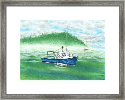 Harbor Framed Print by Troy Levesque
