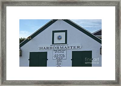 Harbormaster Framed Print by Amazing Jules
