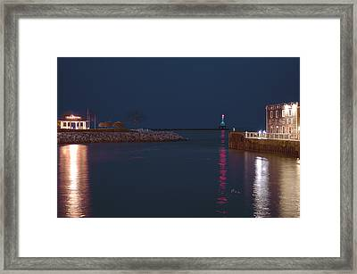 Harborside Icons Framed Print