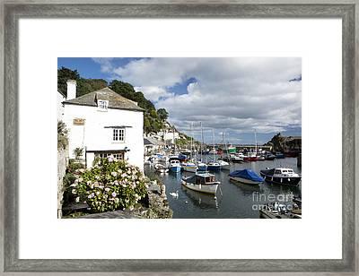 Harbour Cottage Framed Print by Paul Felix