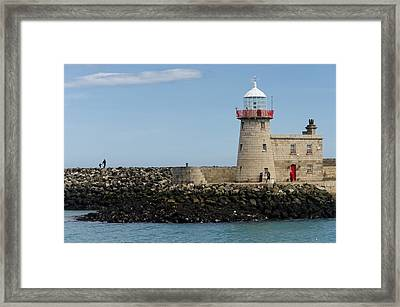 Harbour Entrance Framed Print