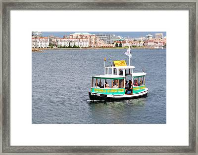 Harbour Ferry Framed Print by Mark Alan Perry