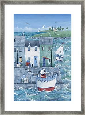 Harbour Gifts Framed Print by Peter Adderley