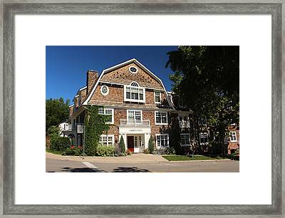 Harbour House Niagara-on-the-lake Framed Print by Nicky Jameson