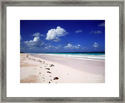 Harbour Island Framed Print