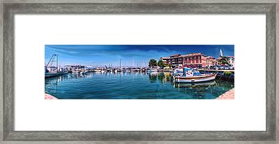 Harbour Life Izola Framed Print